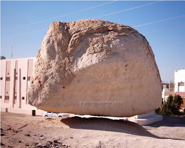 หินลอย ในปาเลสไตน์ ??